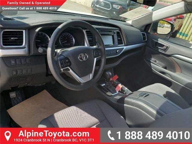 2019 Toyota Highlander LE (Stk: S975273) in Cranbrook - Image 9 of 15