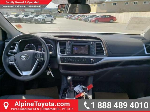2019 Toyota Highlander LE (Stk: S975273) in Cranbrook - Image 10 of 15
