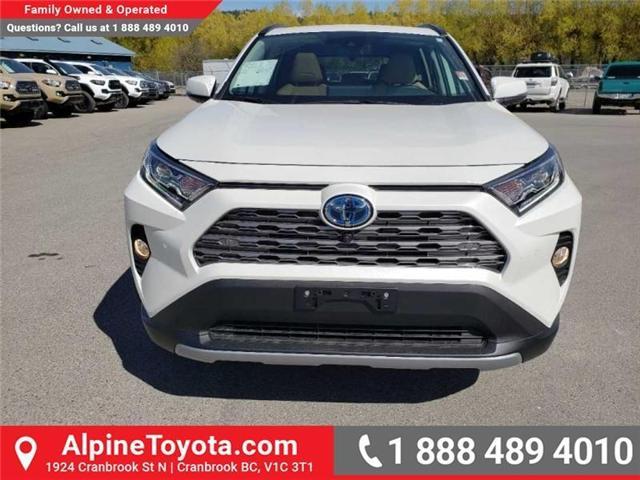 2019 Toyota RAV4 Hybrid Limited (Stk: W001666) in Cranbrook - Image 8 of 17
