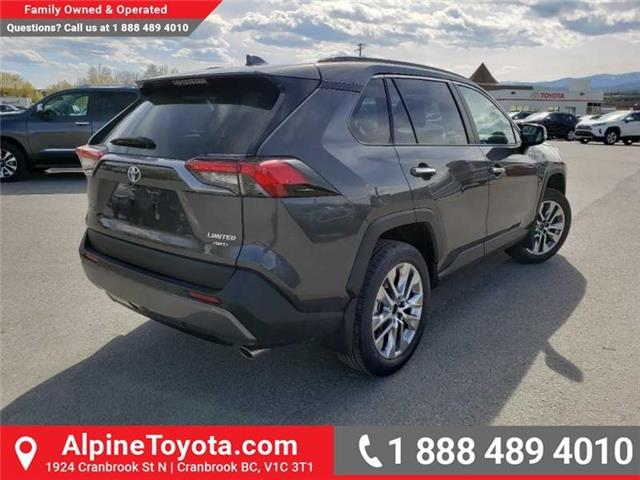 2019 Toyota RAV4 Limited (Stk: W043620) in Cranbrook - Image 5 of 17