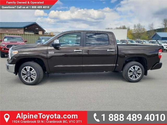 2019 Toyota Tundra 1794 Edition Package (Stk: X832548) in Cranbrook - Image 2 of 19