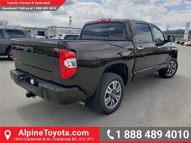 2019 Toyota Tundra 1794 Edition Package (Stk: X832548) in Cranbrook - Image 6 of 19