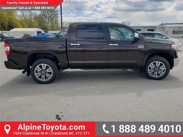 2019 Toyota Tundra 1794 Edition Package (Stk: X832548) in Cranbrook - Image 7 of 19