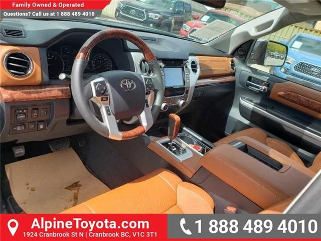 2019 Toyota Tundra 1794 Edition Package (Stk: X832548) in Cranbrook - Image 10 of 19