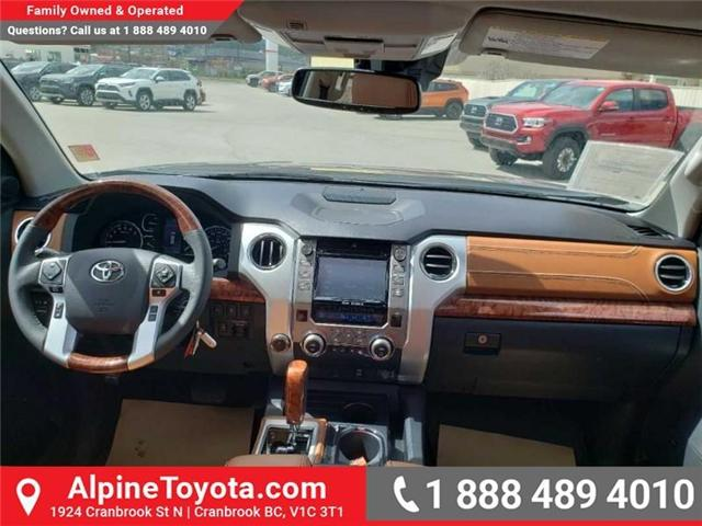 2019 Toyota Tundra 1794 Edition Package (Stk: X832548) in Cranbrook - Image 11 of 19