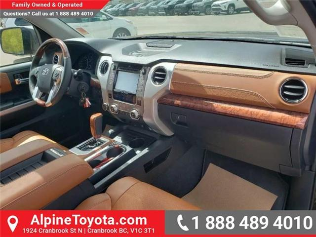 2019 Toyota Tundra 1794 Edition Package (Stk: X832548) in Cranbrook - Image 12 of 19