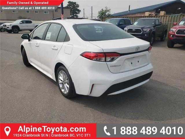 2020 Toyota Corolla LE (Stk: P003535) in Cranbrook - Image 3 of 17
