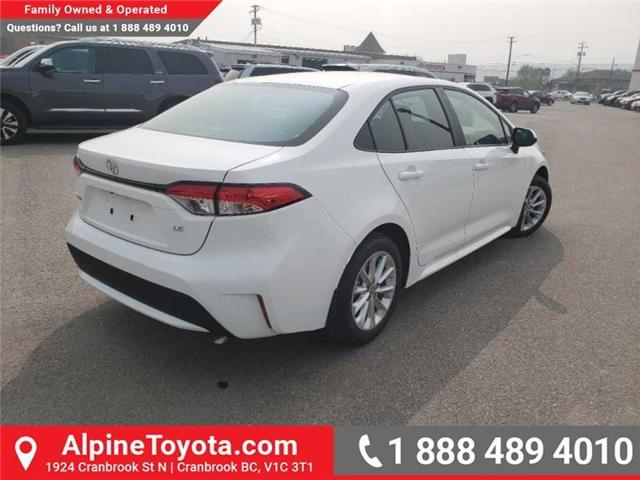 2020 Toyota Corolla LE (Stk: P003535) in Cranbrook - Image 5 of 17