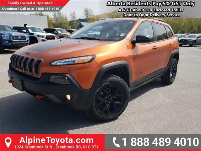 2016 Jeep Cherokee Trailhawk (Stk: X043213A) in Cranbrook - Image 1 of 15