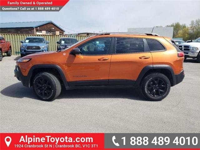 2016 Jeep Cherokee Trailhawk (Stk: X043213A) in Cranbrook - Image 2 of 15