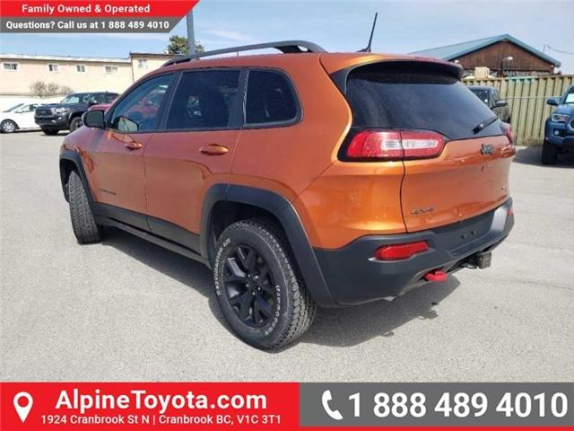 2016 Jeep Cherokee Trailhawk (Stk: X043213A) in Cranbrook - Image 3 of 15