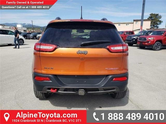 2016 Jeep Cherokee Trailhawk (Stk: X043213A) in Cranbrook - Image 4 of 15