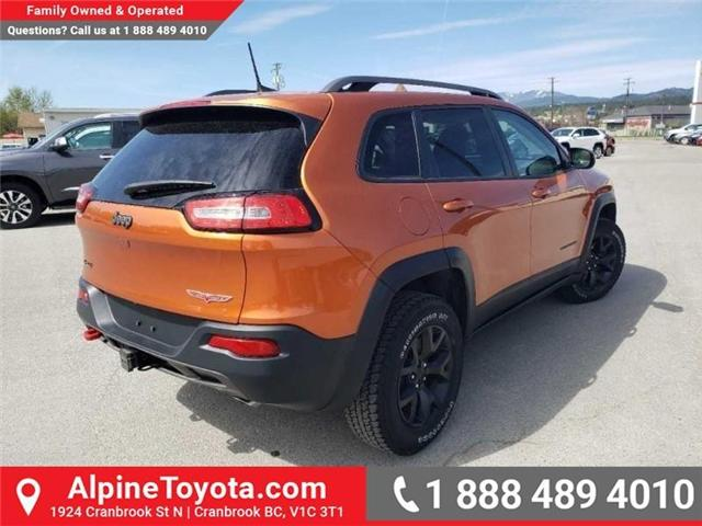 2016 Jeep Cherokee Trailhawk (Stk: X043213A) in Cranbrook - Image 5 of 15