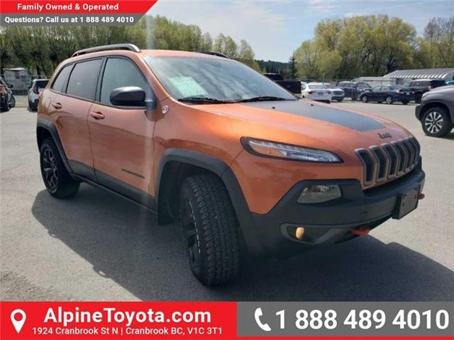 2016 Jeep Cherokee Trailhawk (Stk: X043213A) in Cranbrook - Image 7 of 15