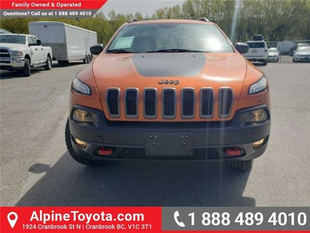 2016 Jeep Cherokee Trailhawk (Stk: X043213A) in Cranbrook - Image 8 of 15