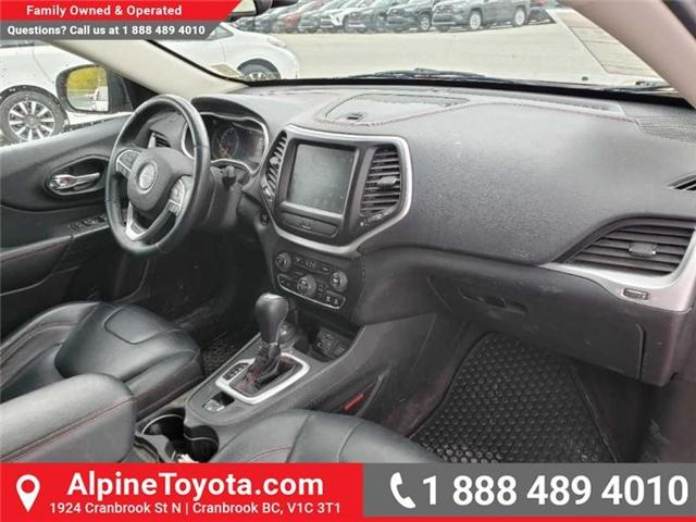2016 Jeep Cherokee Trailhawk (Stk: X043213A) in Cranbrook - Image 11 of 15