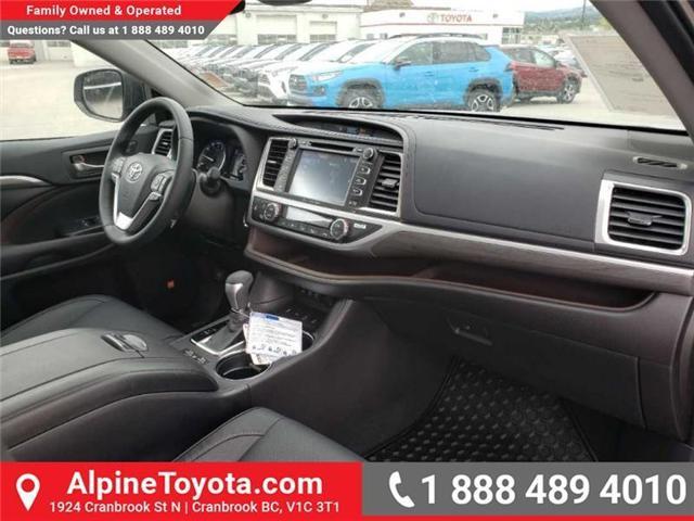 2019 Toyota Highlander Limited (Stk: S979530) in Cranbrook - Image 11 of 17