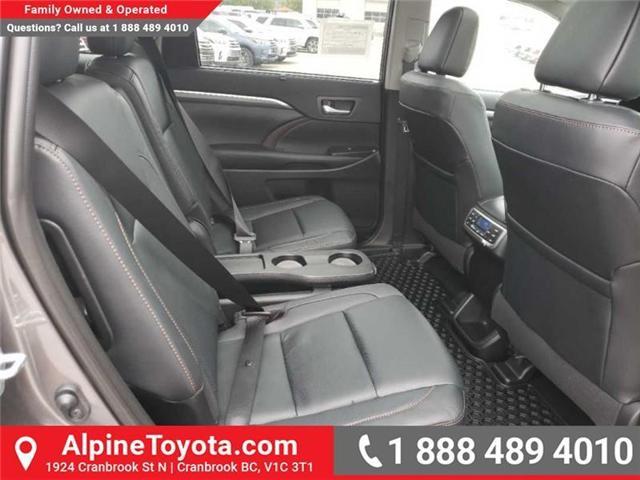 2019 Toyota Highlander Limited (Stk: S979530) in Cranbrook - Image 16 of 17