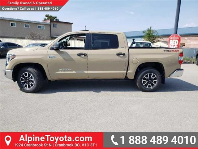 2019 Toyota Tundra TRD Offroad Package (Stk: X837220) in Cranbrook - Image 2 of 16