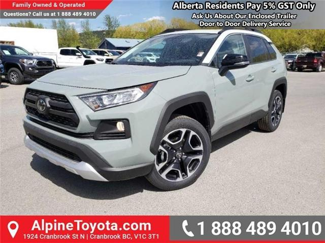 2019 Toyota RAV4 Trail (Stk: W046571) in Cranbrook - Image 1 of 15