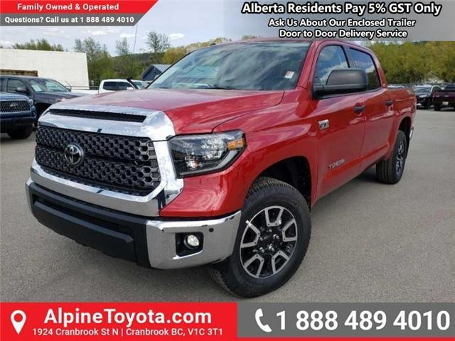 2019 Toyota Tundra TRD Offroad Package (Stk: X834442) in Cranbrook - Image 1 of 17