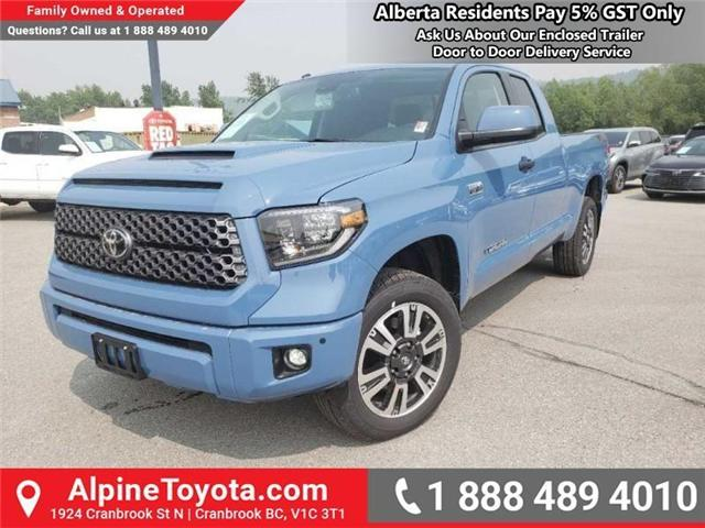 2019 Toyota Tundra TRD Sport Package (Stk: X835241) in Cranbrook - Image 1 of 17