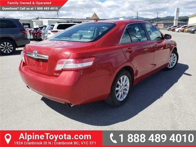 2010 Toyota Camry XLE V6 (Stk: W019134B) in Cranbrook - Image 5 of 16