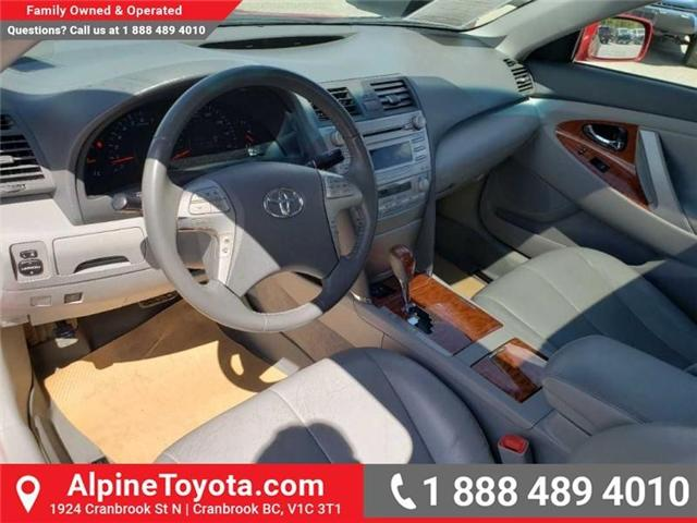 2010 Toyota Camry XLE V6 (Stk: W019134B) in Cranbrook - Image 9 of 16