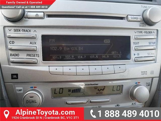 2010 Toyota Camry XLE V6 (Stk: W019134B) in Cranbrook - Image 12 of 16