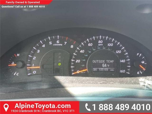 2010 Toyota Camry XLE V6 (Stk: W019134B) in Cranbrook - Image 14 of 16