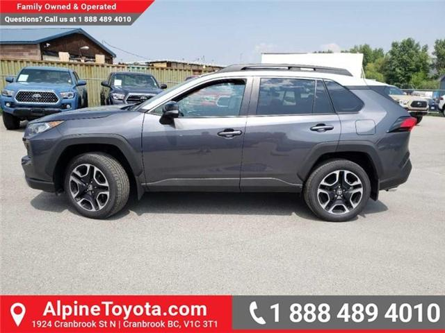 2019 Toyota RAV4 Trail (Stk: C001253) in Cranbrook - Image 2 of 18