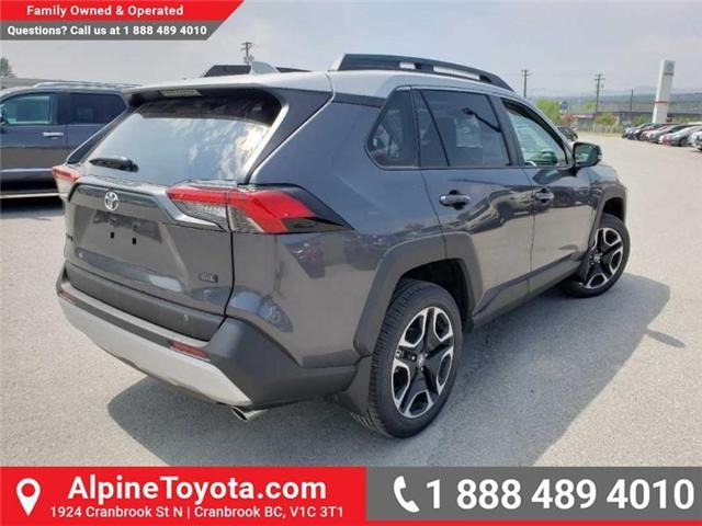 2019 Toyota RAV4 Trail (Stk: C001253) in Cranbrook - Image 5 of 18