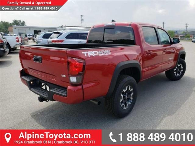 2019 Toyota Tacoma TRD Off Road (Stk: X192643) in Cranbrook - Image 5 of 15