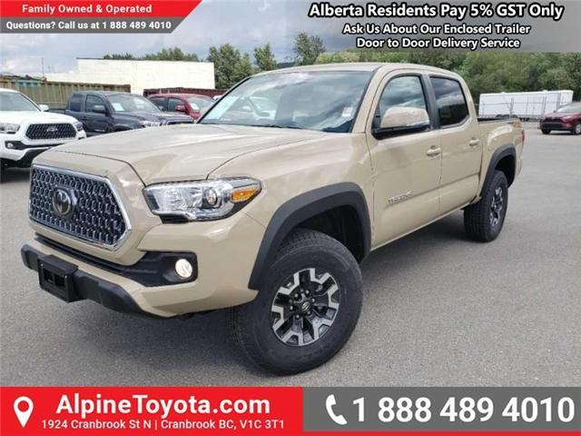 2019 Toyota Tacoma TRD Off Road (Stk: X193251) in Cranbrook - Image 1 of 15