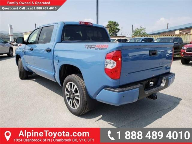2019 Toyota Tundra TRD Sport Package (Stk: X835112) in Cranbrook - Image 3 of 16