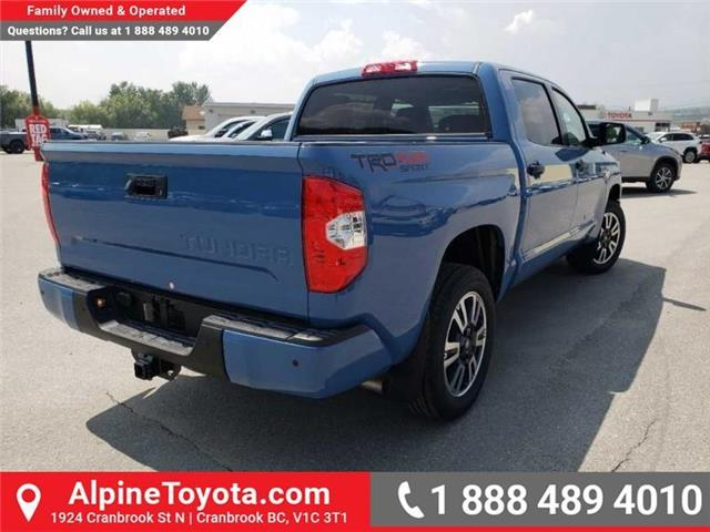 2019 Toyota Tundra TRD Sport Package (Stk: X835112) in Cranbrook - Image 5 of 16