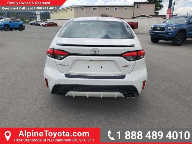 2020 Toyota Corolla XSE (Stk: P003264) in Cranbrook - Image 4 of 16