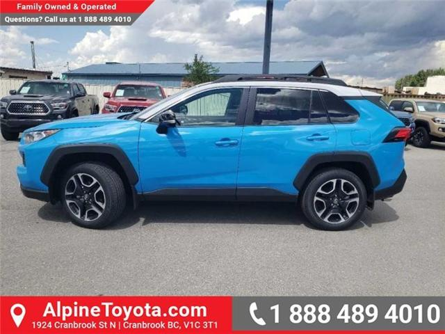 2019 Toyota RAV4 Trail (Stk: W053511) in Cranbrook - Image 2 of 17