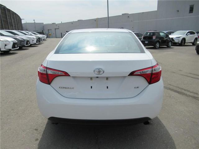 2016 Toyota Corolla LE (Stk: 16055A) in Toronto - Image 5 of 13