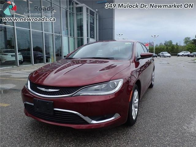 2015 Chrysler 200 LX (Stk: 41026A) in Newmarket - Image 1 of 30