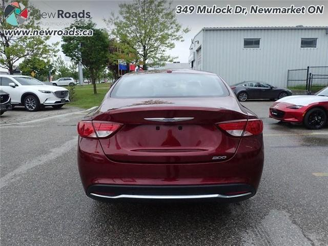 2015 Chrysler 200 LX (Stk: 41026A) in Newmarket - Image 6 of 30
