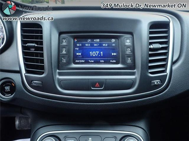 2015 Chrysler 200 LX (Stk: 41026A) in Newmarket - Image 18 of 30