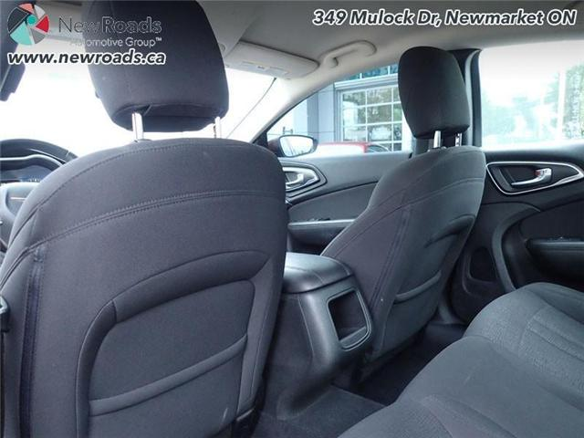 2015 Chrysler 200 LX (Stk: 41026A) in Newmarket - Image 23 of 30