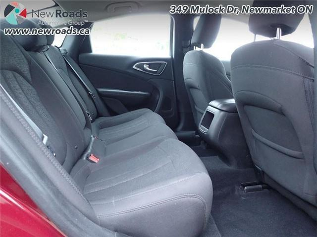 2015 Chrysler 200 LX (Stk: 41026A) in Newmarket - Image 29 of 30