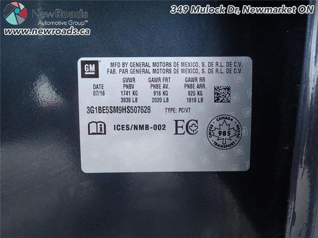 2017 Chevrolet Cruze LT (Stk: 14190) in Newmarket - Image 28 of 30