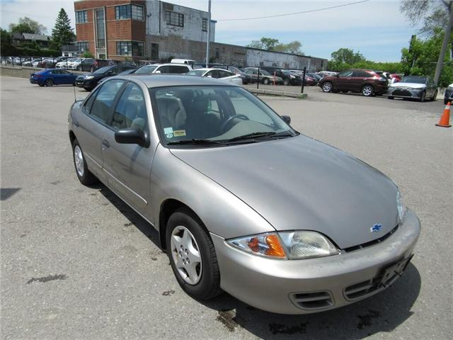 2002 Chevrolet Cavalier  (Stk: 78469A) in Toronto - Image 1 of 19