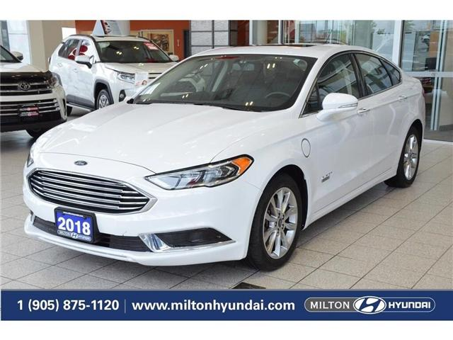 2018 Ford Fusion Energi SE Luxury (Stk: 222106) in Milton - Image 1 of 41