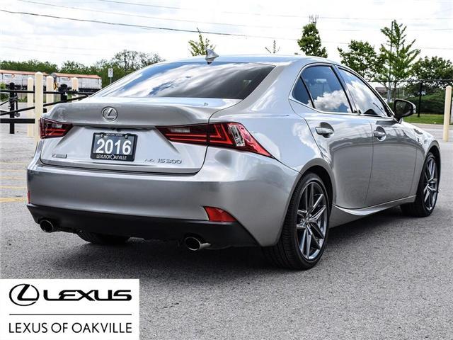 2016 Lexus IS 300 Base (Stk: UC7721) in Oakville - Image 6 of 27
