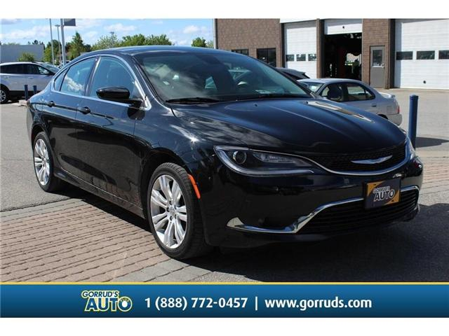 2016 Chrysler 200 Limited (Stk: 140139) in Milton - Image 1 of 15
