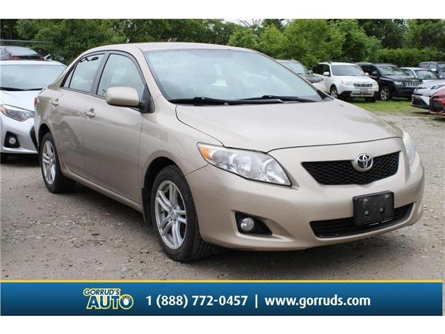 2009 Toyota Corolla LE (Stk: 038351) in Milton - Image 1 of 11